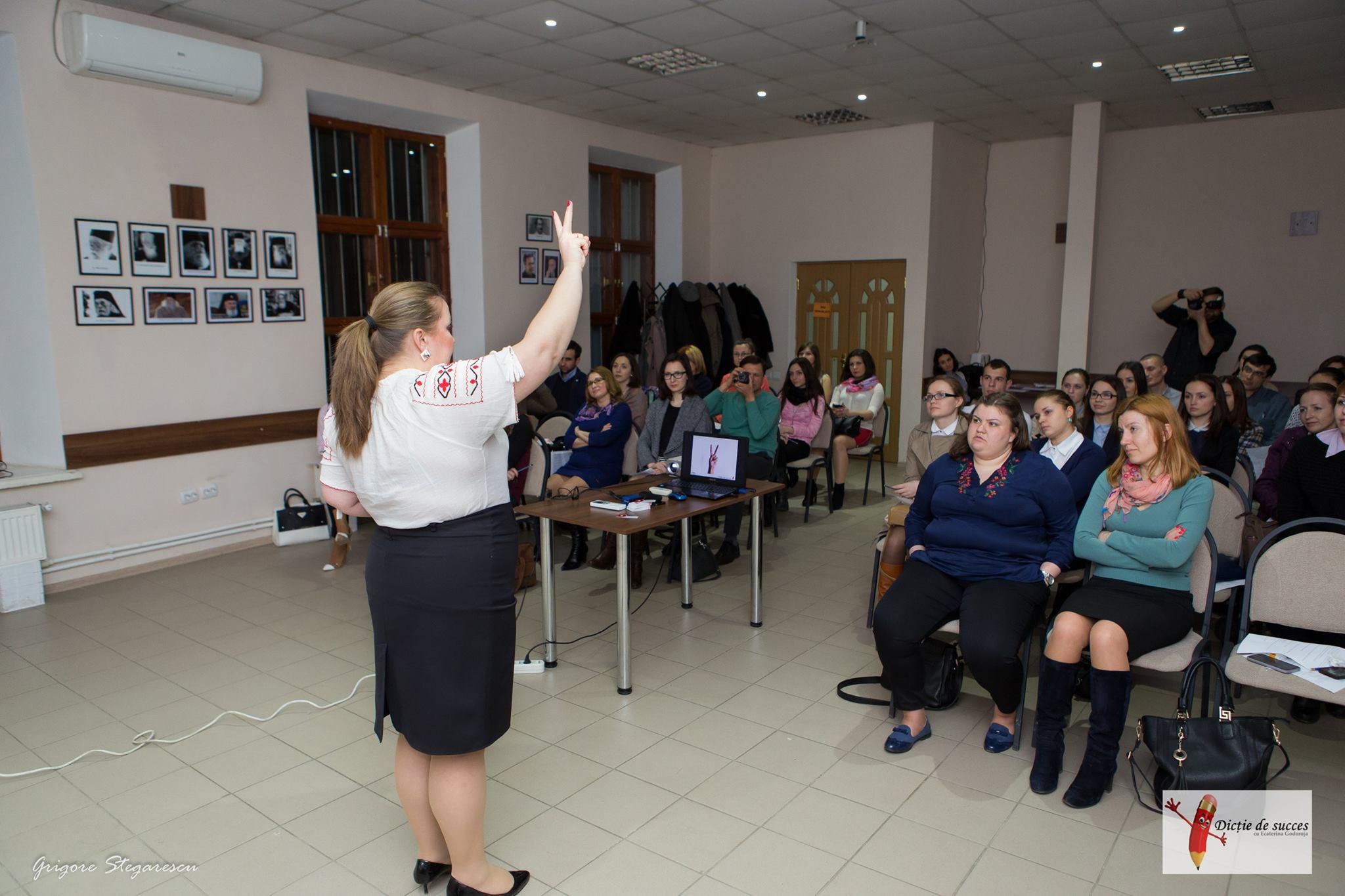 Lecție cu frământări de limbă, expresivitate în comunicare - Chișinău, Moldova